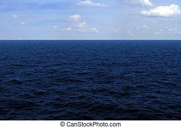 Ocean surface - Hi-res, hi-quality 3D render of the ocean...