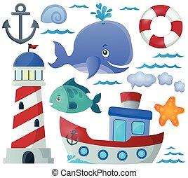 Ocean theme collection 1