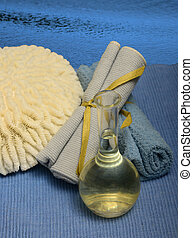 ocean themed spa experience and products