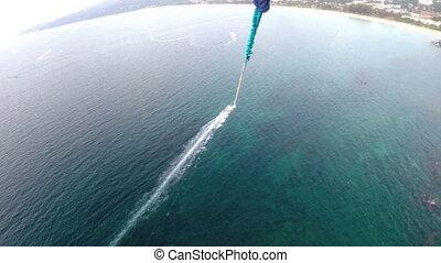Ocean view near Phuket - Balloon flight over the ocean