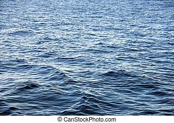 Ocean water surface texture. Deep sea waves
