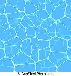 Ocean water, vector background