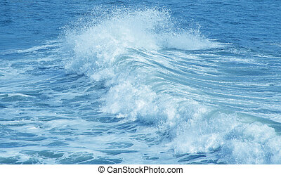 Ocean Water Waves Background