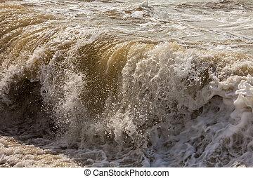 Ocean Wave Crashing, a Ocean Wave Crashing