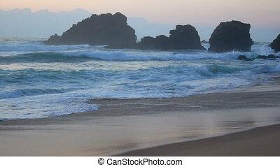 Ocean wave water nature - Atlantic ocean wave water sea