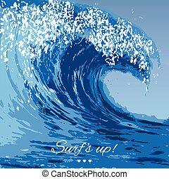 Ocean waves Stock Illustrations. 63,663 Ocean waves clip ...