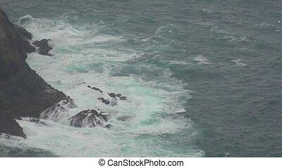 Ocean Waves In Stormy Weather
