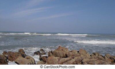 Ocean waves, Morocco Africa - Ocean waves
