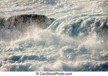 ocean waves motion