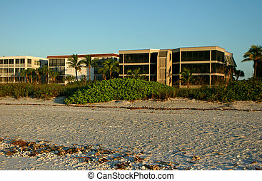 oceanfront beach condominium