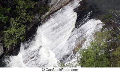 Oceania Falls Tight - On a high release water day, Oceania...