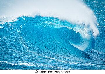oceano azul, onda