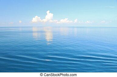 oceano, e, cielo, fondo