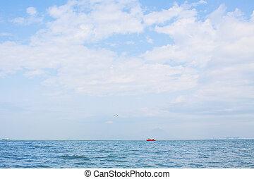 oceano, e, il, cielo, in, hong kong