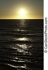 oceano ocaso