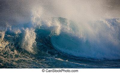 oceano, onda