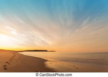 oceano, spiaggia