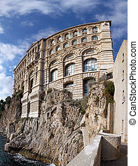 Oceanographic Institute Monaco - Famous building of...