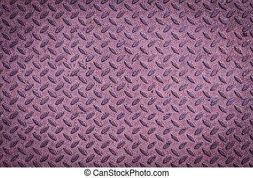 ocel, deska, diamond charakter, kov, seamless, tkanivo, grafické pozadí