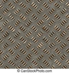 ocel, diamant, seamless, grafické pozadí