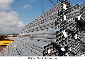 ocel, průmyslový
