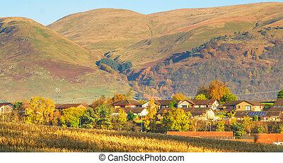 Ochil Hills, Scotland