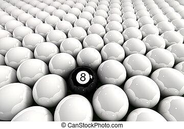 ocho pelota