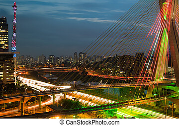 Octavio Frias De Oliveira Bridge, Brazil - Most famous...