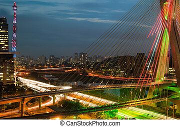Octavio Frias De Oliveira Bridge, Brazil - Most famous...