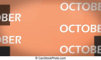 October animation