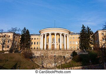 October Palace in Kiev
