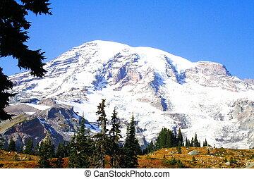 October Rainier - Mt. Rainier in October