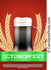 Octoberfest beer poster