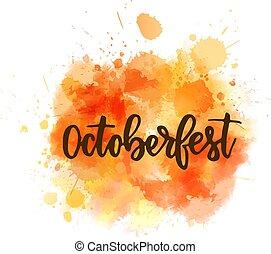 octoberfest, letras