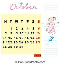 octobre, 2013, gosses