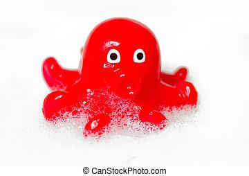 Octopus children bath toy