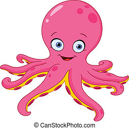Octopus - Cute octopus