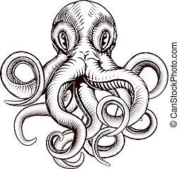 octopus, illustratie