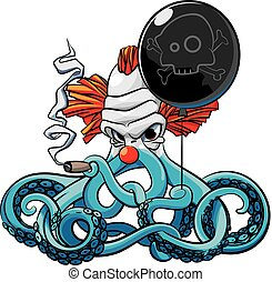 Octopus the Bad Clown