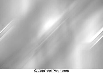 oczyszczony szczotką, abstrakcyjny, metal, wstecz, struktura