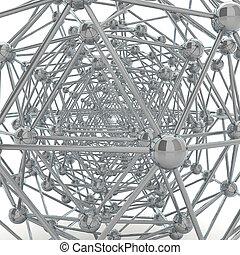 odbijający, molekularna budowa