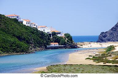odeceixe, aljezur, 浜, ポルトガル