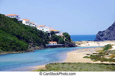 odeceixe, aljezur, spiaggia, portogallo