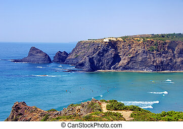Odeceixe beach in South-West Alentejo and Costa Vicentina