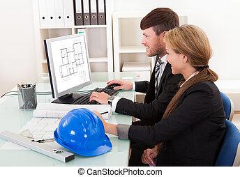 oder, strukturell, zwei, architekten, ingenieure