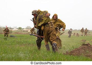 odessa, 乌克兰, 可以, 成员, ww2, 德语, 6, -, 复制, 俱乐部, 历史, 历史, 乌克兰, 军方...