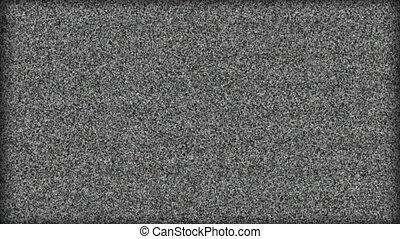 odgłos, telewizja, -, on-off, obrót, hd