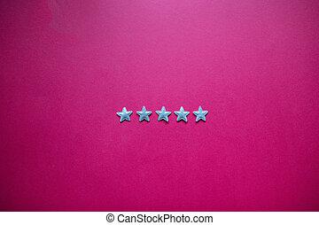 odhad, servis, zpětná vazba, zlatý hřeb, pět, spokojenost, pojem, blackboard.