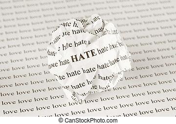 odio, amore, o