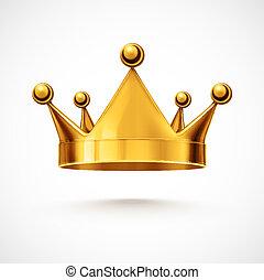 odizolowany, korona